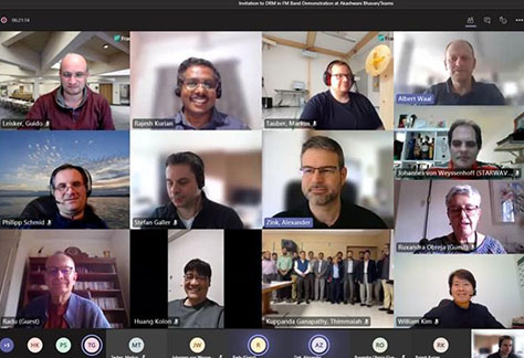 DRM online meeting