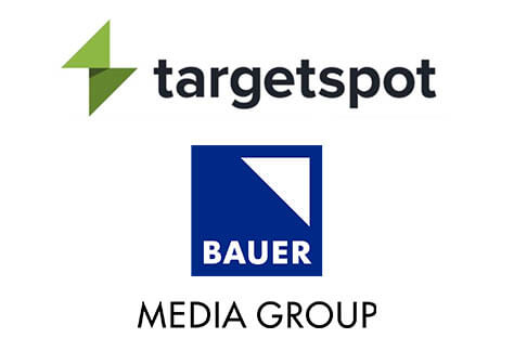 Targetspot and Bauer Media Group logo