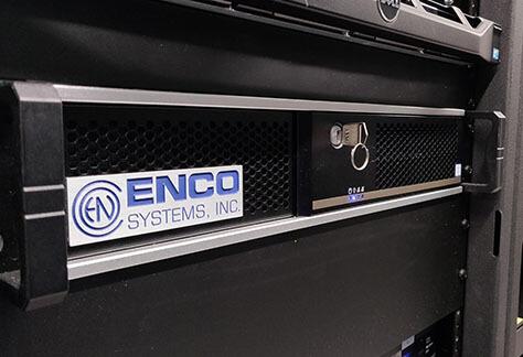 ENCO enCaption in rack at WAMU