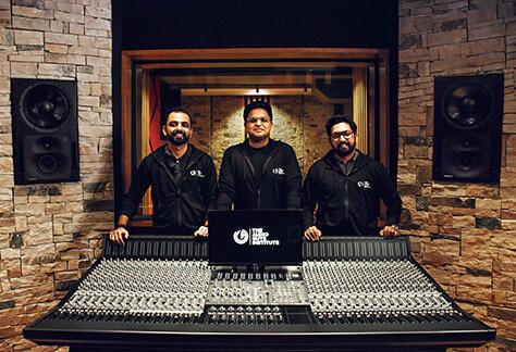 The Audio Guys Institute studio