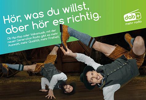 Germany Startmotiv DAB Kampagne