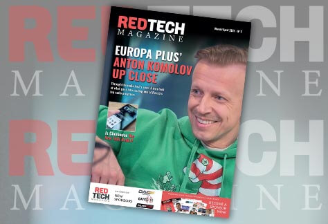 RedTech Magazine - Mar/Apr 2021 cover
