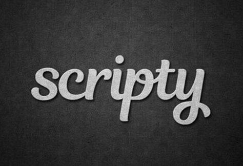 Scripty logo