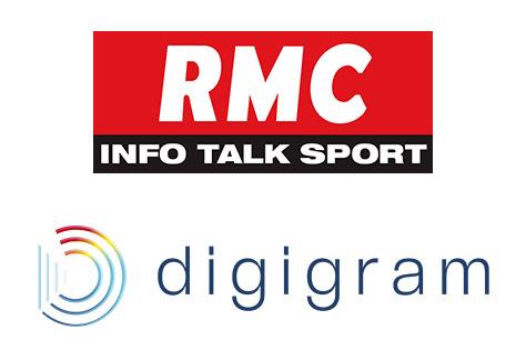 RMC and Digigram logos