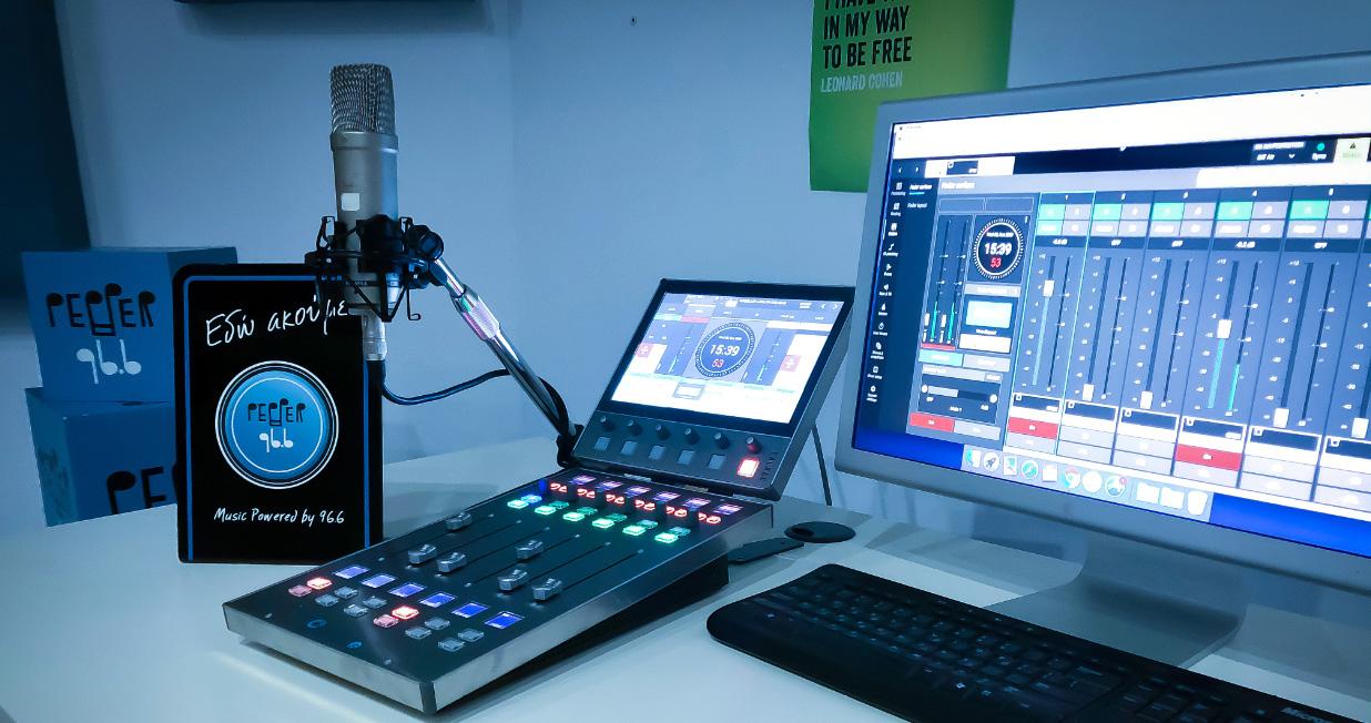 Calrec at Pepper FM 96.6
