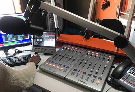 Calrec Type R console at Eldos FM