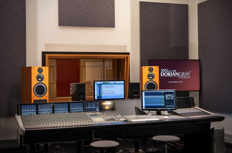 PMC at Dorian Gray Studios