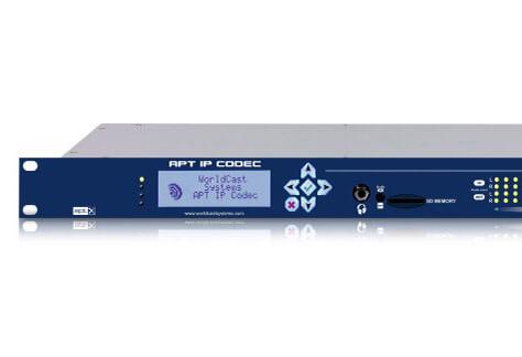 Worldcast APT IP codec