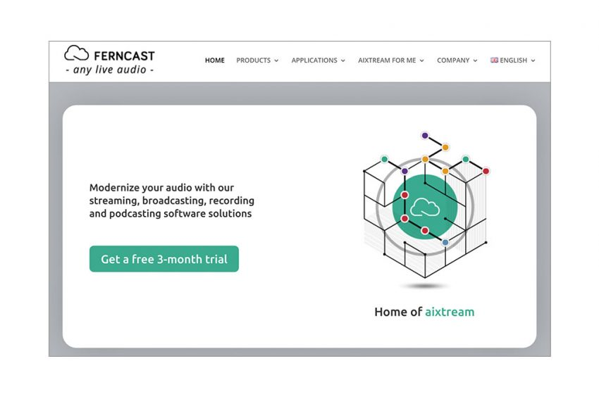 Ferncast Launches Redesigned Website