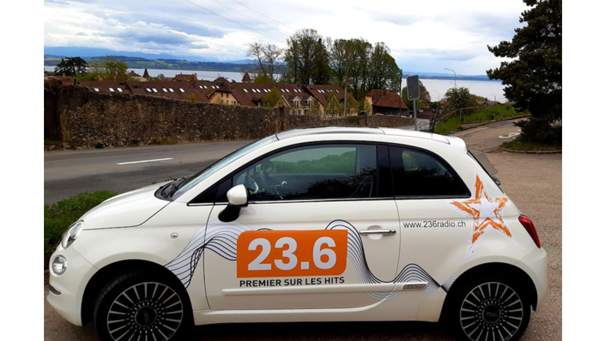 Radio 23.6 car