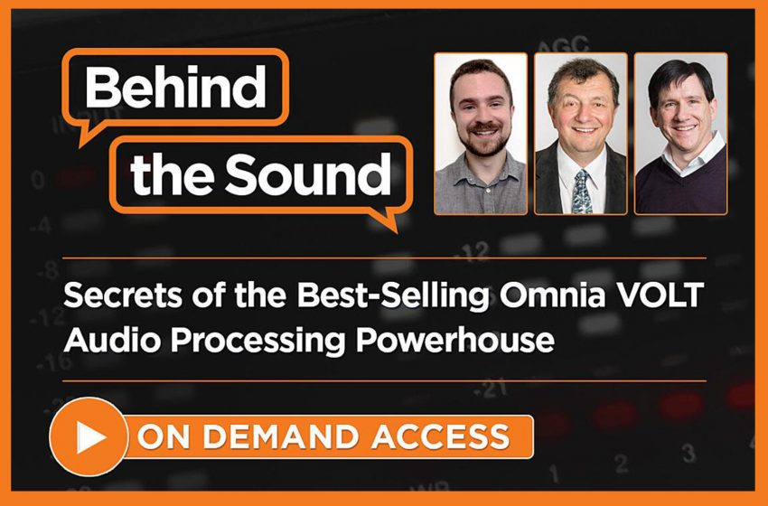 Telos Alliance Shares Omnia Volt Webinar Recording