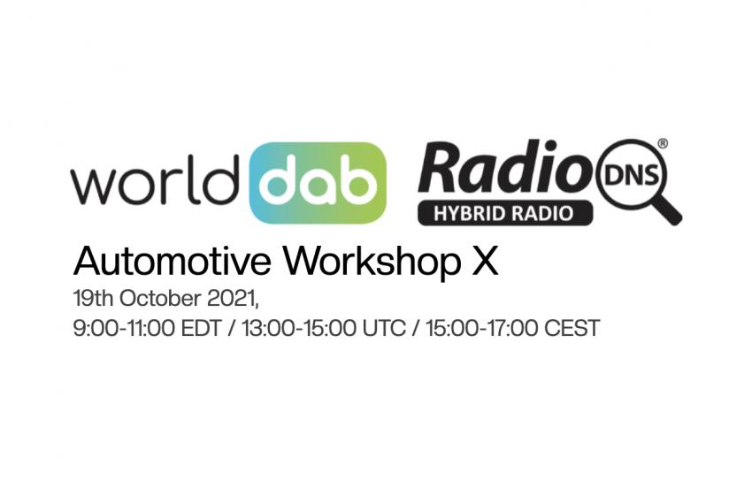 WorldDAB and RadioDNS Hold Automotive Workshop