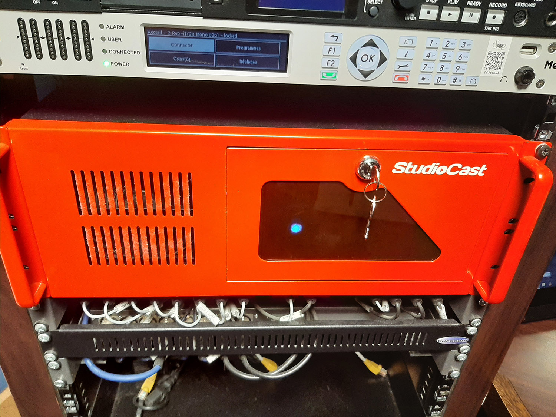 StudioCast System at Radio Notre Dame