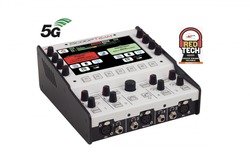 AETA Audio Systems Adds 5G to ScoopTeam